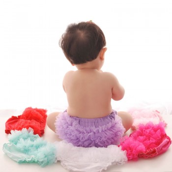 Sweet Solid Tutu PP Shorts for Baby Girl