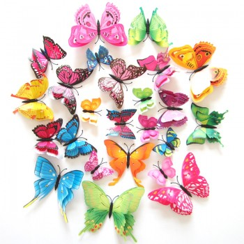 12-pack Beautiful 3D Butterfly DIY Wall Stickers