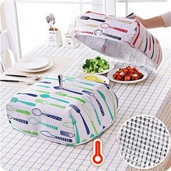 Foldable Patterned Durable Heat Food Cover