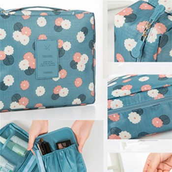 Trendy Comestic Bag Waterproof Multi-Function Storage Bag