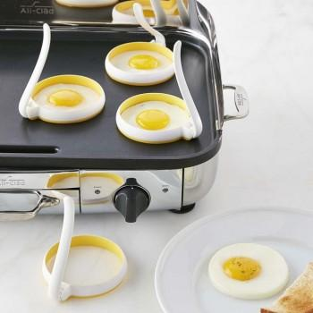 2-piece Cute Round Fried Egg Mold