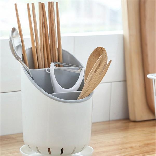 Simple Style Chopstick Storage Rack