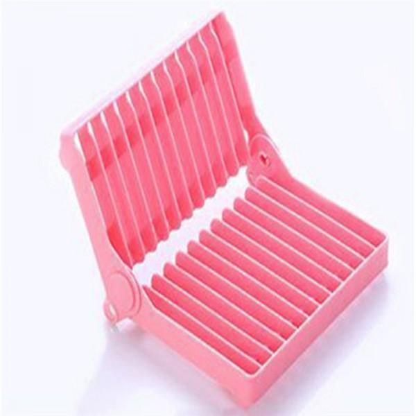 Collapsible Solid Draining Rack Kitchen Storage Rack