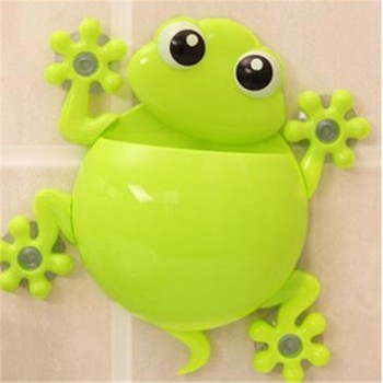 1 Pcs Adorable Gecko Wall Mounted Toothbrush Holder