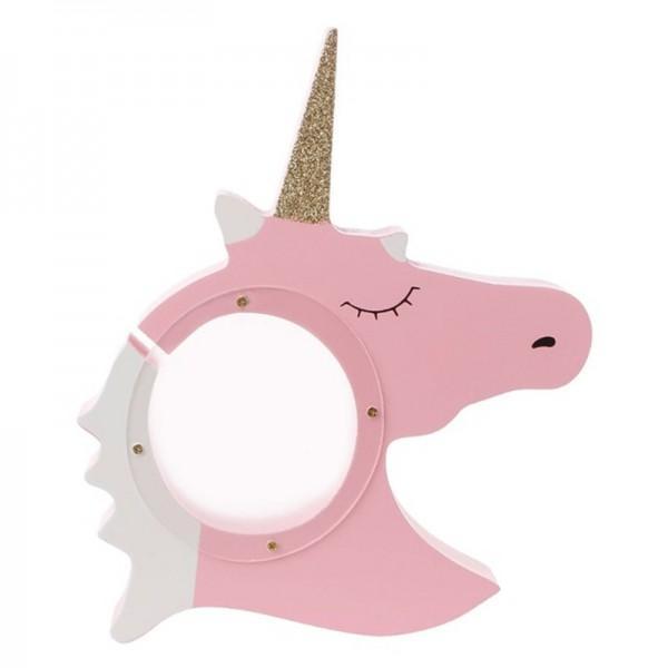 Creative Unicorn Design Money Box Desktop Display