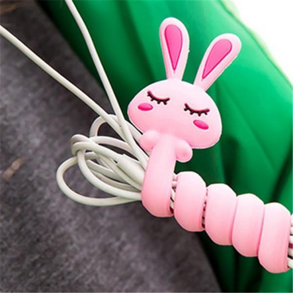 Stylish Cartoon Design Earphone Wire Wrapper