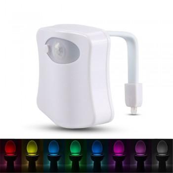 1 Pc Motion Sensor Activated Toilet Lamp