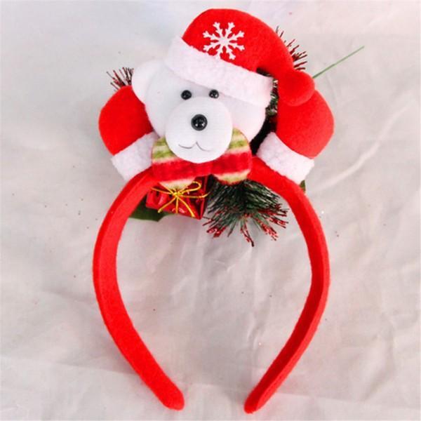 Cute Santa LED Headband Christmas Decor