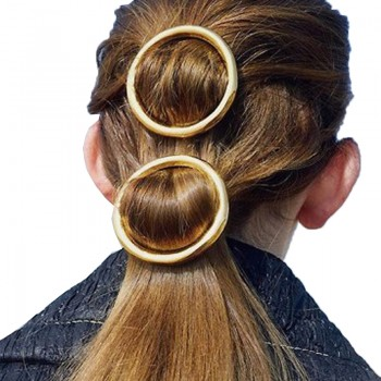 1-piece Sassy Circle Design Hairpin