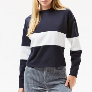 Casual Color Blocked Sweatshirt