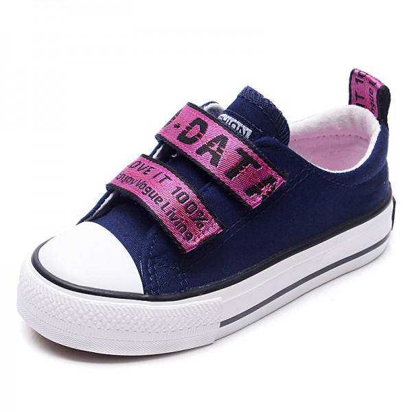 Color Block Velcro Sneakers for Toddlers and Kids