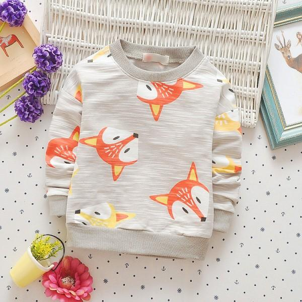 Baby's Lovely Fox Pullover