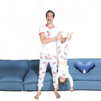Adorable Christmas Patterned  Matching Pajamas Set for Daddy and Me