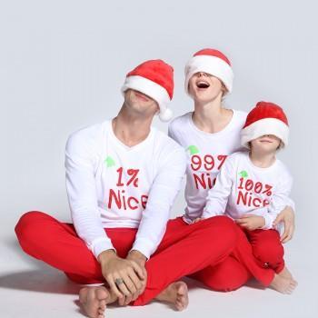 funny 1 nice 99 nice 100 nice matching pajamas for family
