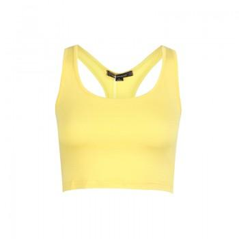 Sporty Solid Stretchy Tank Top for Women