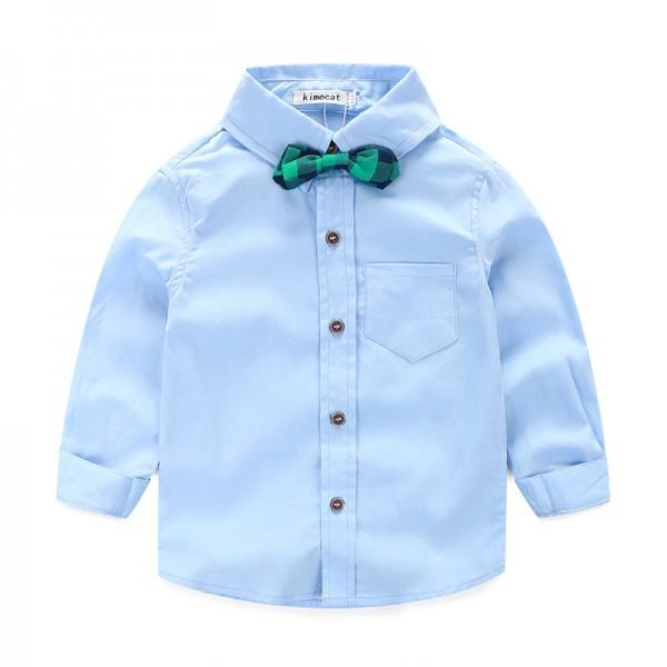 Handsome 3-piece Bow Tie Shirt, Vest and Pants Set for Toddler Boy/Boy