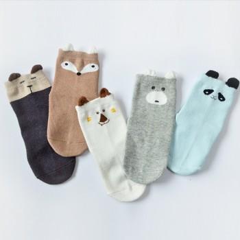 Baby 5-pack Cute Pattern Sock