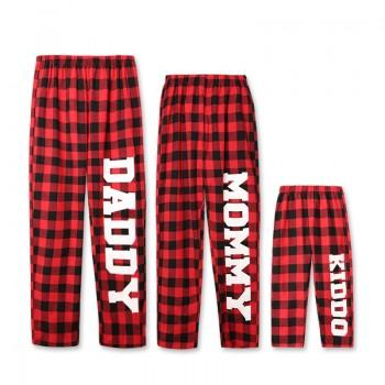 Family Plaid Comfy Pajama Pants