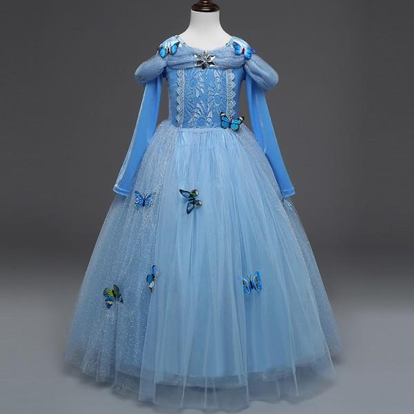butterflydetailed fairy tale princess dress costume dress