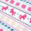 Beautiful Unicorn Christmas Snowflake Pattern Family Matching Set