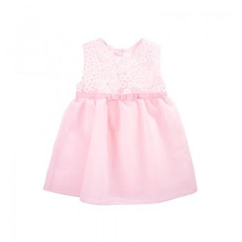 Wonderful Embroidered Tulle Dress for Baby and Toddler Girl